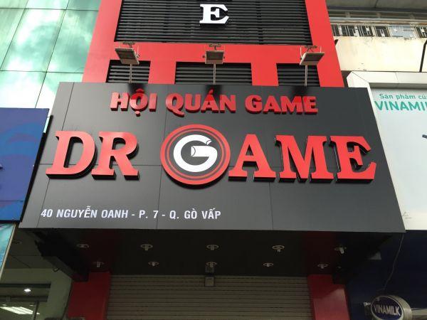 Thi Công Cyber Hội Quán DG Game Tiêu Chuẩn 5 Sao Tại Gò Vấp HCM