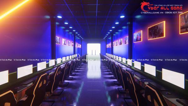 Nâng Cấp Phòng Net Trọn Gói Chuẩn Cyber Game Chuyên Nghiệp