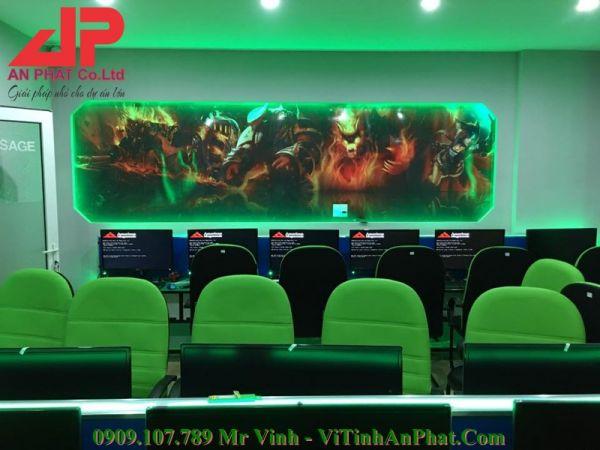 Thi Công Phòng Máy Cyber Phan Nguyễn Quận Tân Bình Trọn Gói