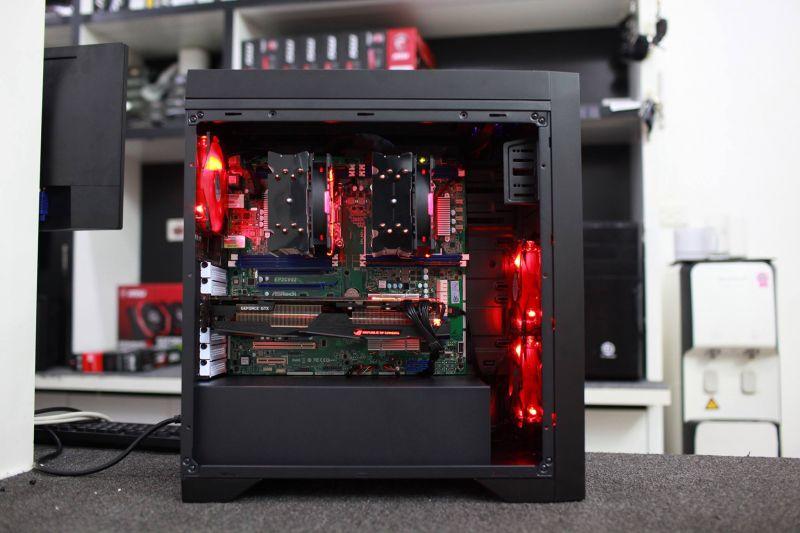 Workstation Motherboard Dual Cpu Xeon 24 Core - Vi Tính An Phát