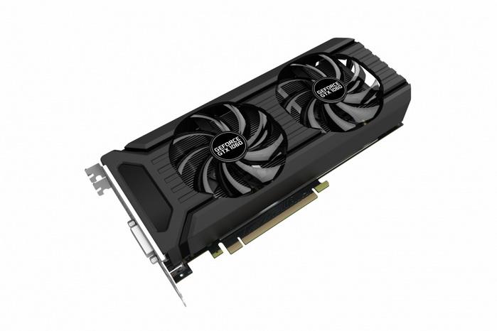 Palit Nvidia GTX 1060 Dual Fan 6GB