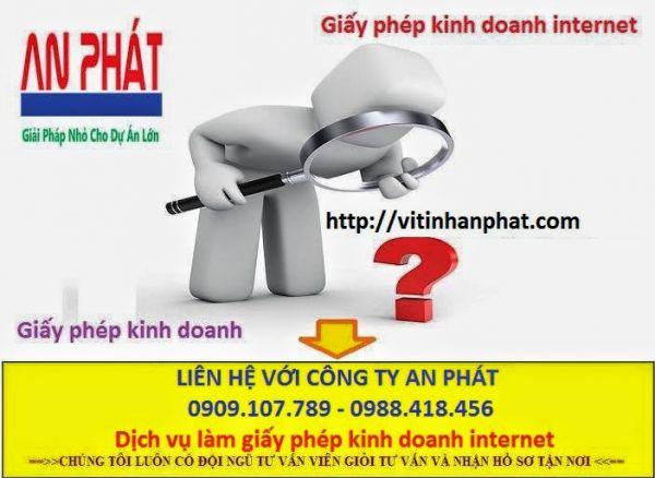 Thủ tục đăng ký kinh doanh cửa hàng Internet